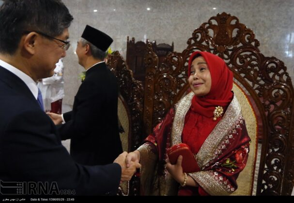 Indonesia Independence Anniversary Marked in Tehran's Milad Tower7