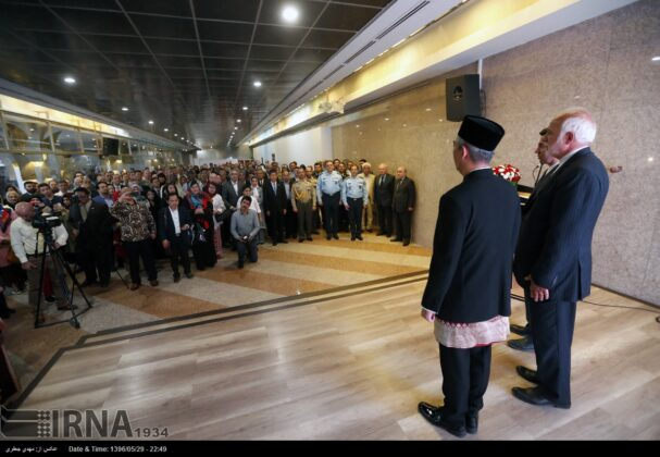 Indonesia Independence Anniversary Marked in Tehran's Milad Tower11