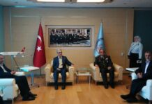 Iran Top Officer Arrives in Ankara