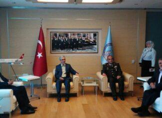Iran Top Officer Arrives in Ankara
