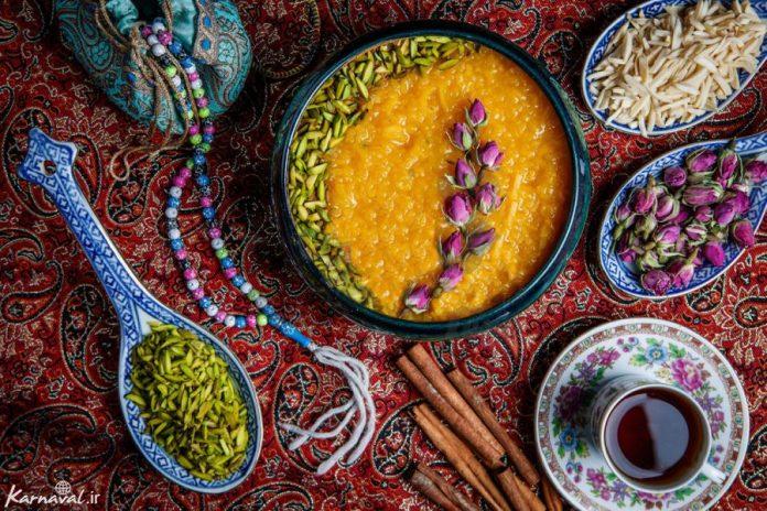 Diez deliciosos postres iraníes