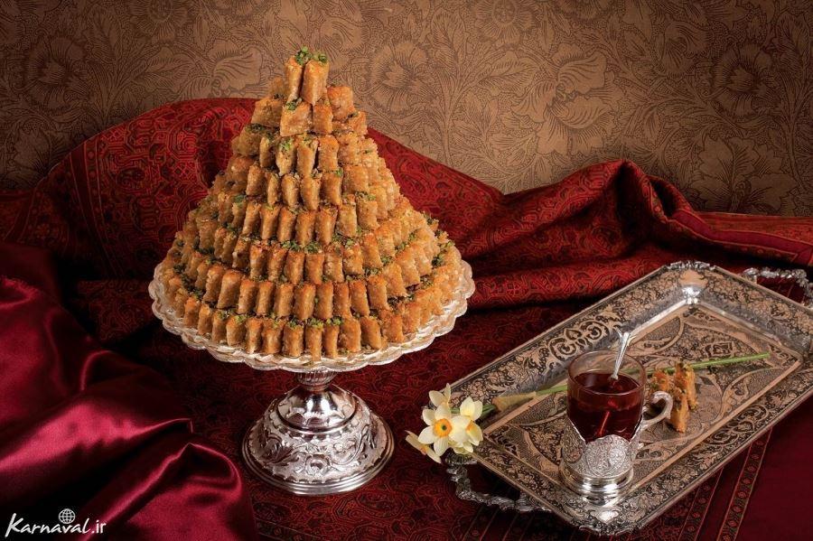 Yazdi Sweets of Iran