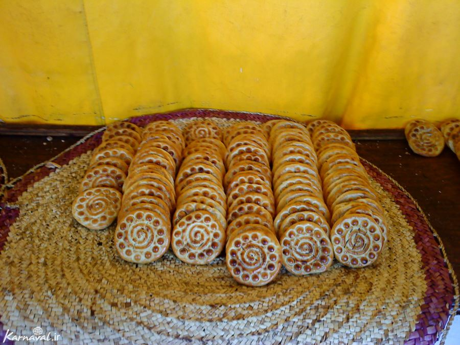 Koloocheh, Iranian cookie