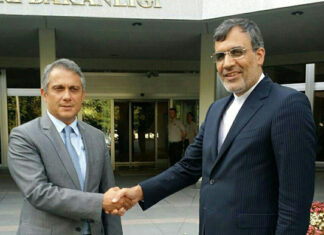 Iranian Deputy FM Meets Turkish Undersecretary in Ankara