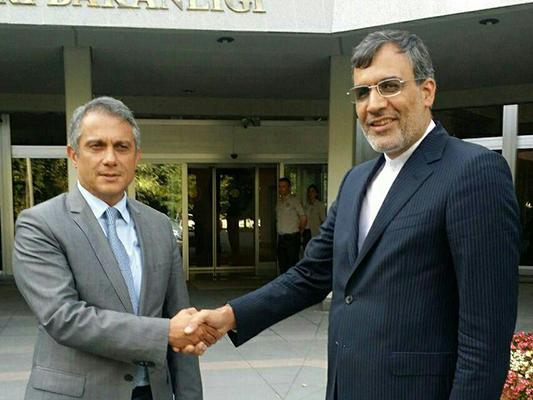Iranian Deputy FM Meets Turkish Undersecretary in Ankara