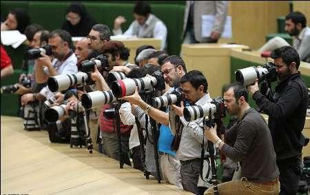 اكثرمن 400 صحفی محلي وأجنبي يغطون حفل تحليف روحاني