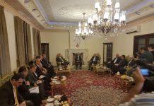 سفير ايران لدى العراق يستقبل الوفد السياسي لإقليم كردستان