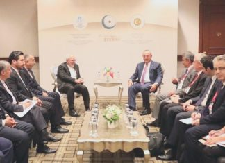 محادثات ايرانية تركية على هامش اجتماع اسطنبول