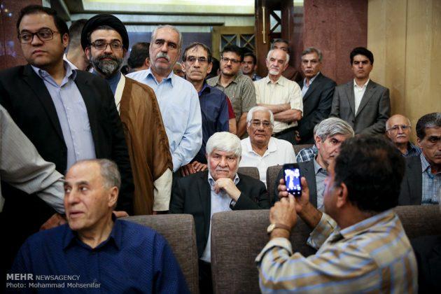 """مراسم تأبين وزير الخارجية الايراني الاسبق """"ابراهيم يزدي""""1"""