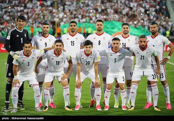 لقاء منتخبي إيران وسوريا لكرة القدم1