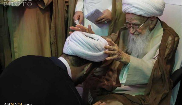 مراسم اعتمار العمامة في عيد الغدير1