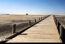 جفاف بحيرة ارومية 1