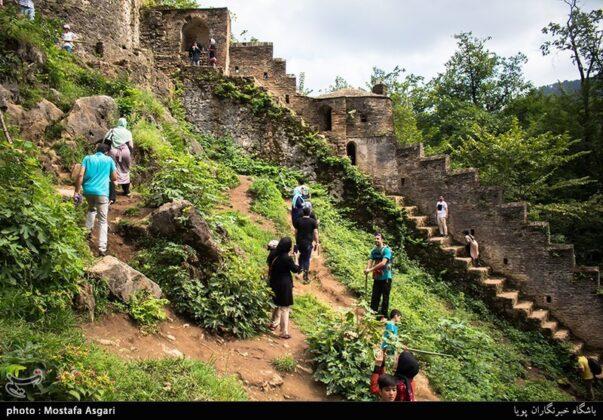 Iran's Beauties in Photos: Enchanting Rudkhan Castle1