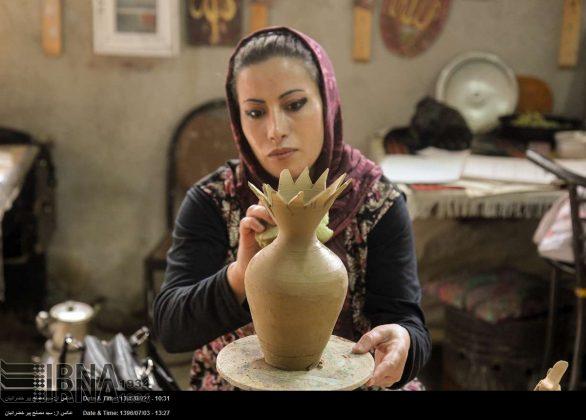 الصناعات الیدویة فی کردستان الايرانية 1