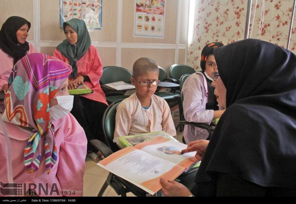 Opening Bell of New School Year Rung for Cancer Kids in Iran1