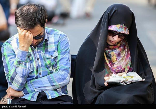 مراسم دعاء يوم عرفة في طهران 10