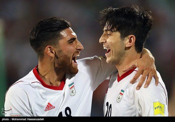 لقاء منتخبي إيران وسوريا لكرة القدم10