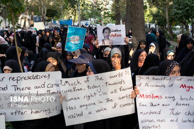 جامعيون يعتصمون امام مكتب الامم المتحدة بطهران10