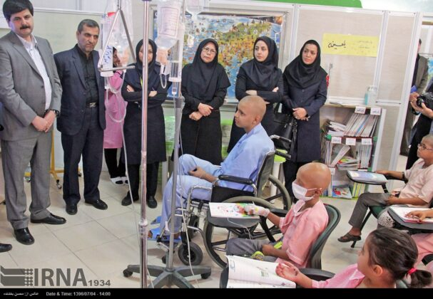 Opening Bell of New School Year Rung for Cancer Kids in Iran10