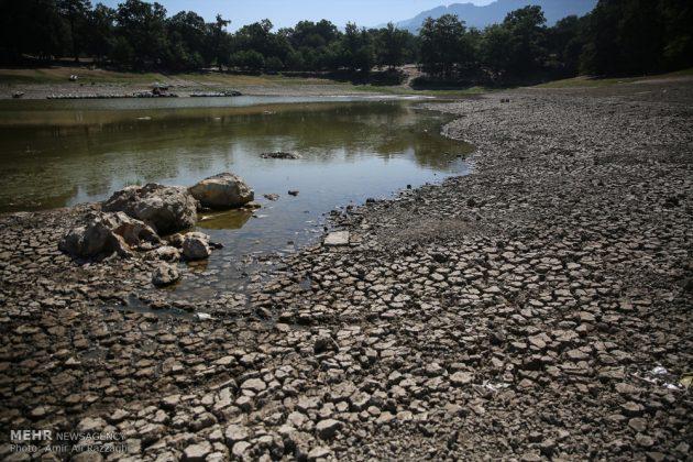 بحيرات محافظة مازندران الايرانية تواجه خطر الجفاف10