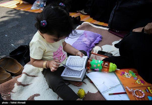مراسم دعاء يوم عرفة في طهران 11
