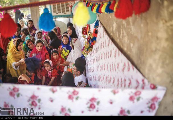 مراسيم زواج العشائر البختیاریة11