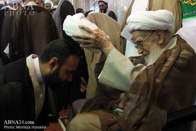 مراسم اعتمار العمامة في عيد الغدير11