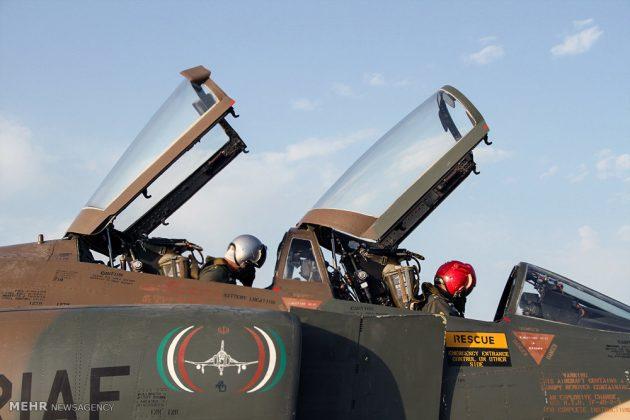 """مناورات القوات الجوية الإيرانية في """"بندرعباس""""11"""