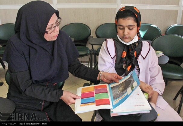 Opening Bell of New School Year Rung for Cancer Kids in Iran11
