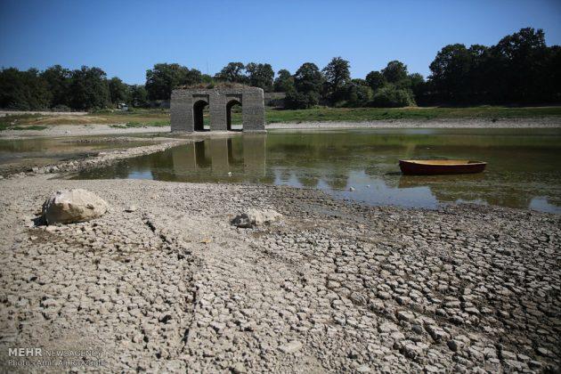 بحيرات محافظة مازندران الايرانية تواجه خطر الجفاف11