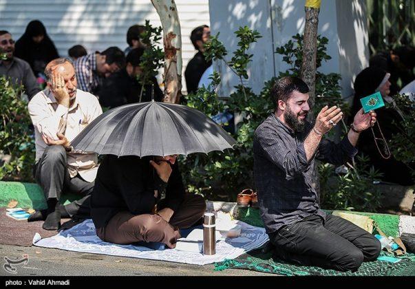 مراسم دعاء يوم عرفة في طهران 12