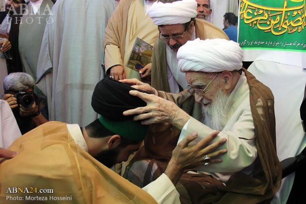 مراسم اعتمار العمامة في عيد الغدير12