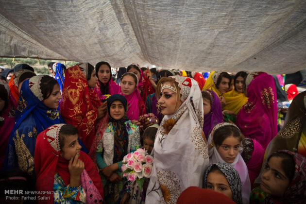 Symphony of Colours in Iran's Local Wedding Ceremonies12