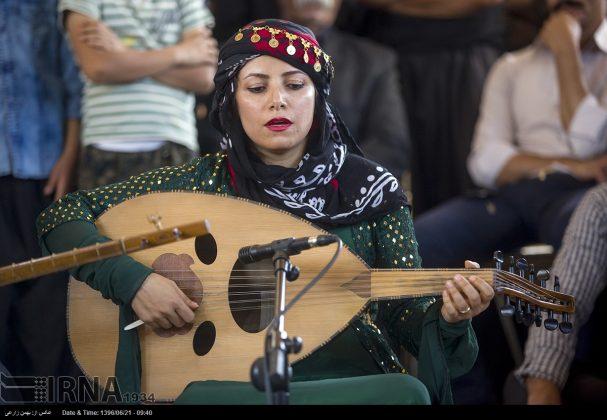 """مهرجان """"الطنبور"""" فی کرمانشاه الايرانية12"""