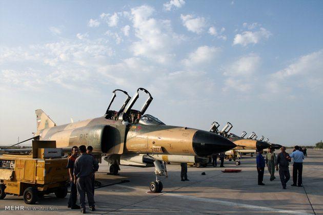 """مناورات القوات الجوية الإيرانية في """"بندرعباس""""12"""