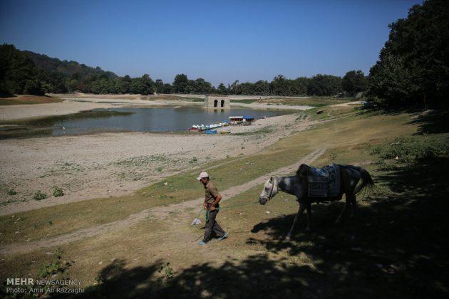 بحيرات محافظة مازندران الايرانية تواجه خطر الجفاف12