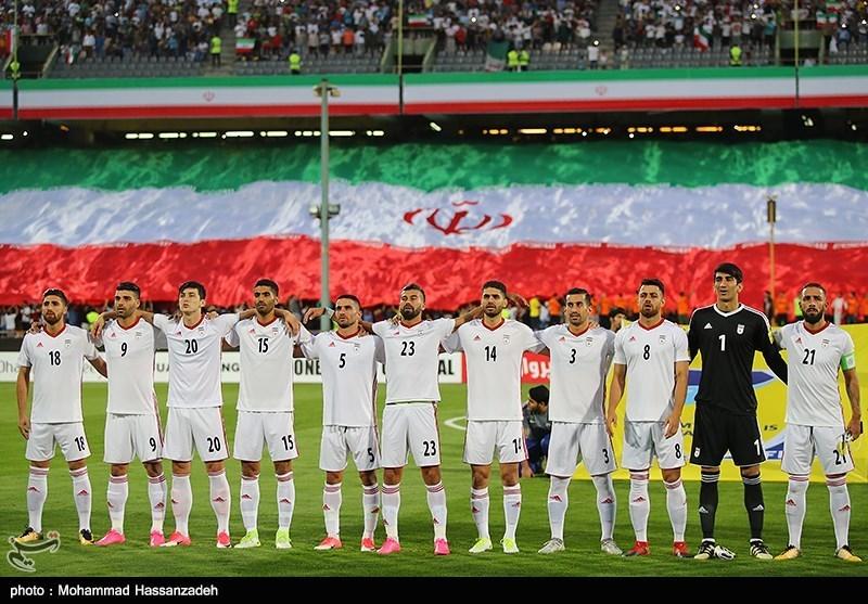 لقاء منتخبي إيران وسوريا لكرة القدم13