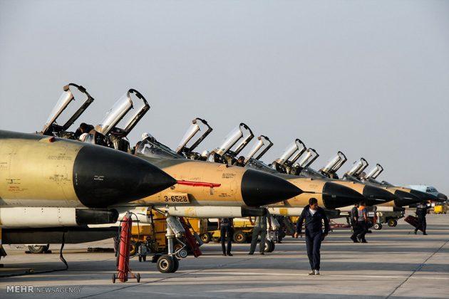 """مناورات القوات الجوية الإيرانية في """"بندرعباس""""13"""