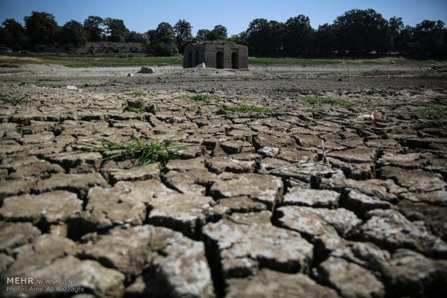 بحيرات محافظة مازندران الايرانية تواجه خطر الجفاف13