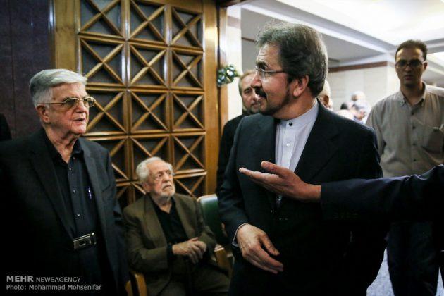 """مراسم تأبين وزير الخارجية الايراني الاسبق """"ابراهيم يزدي""""13"""
