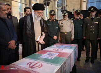 القائد خامنئي.. استشهاد محسن حججي احدث ضجة في البلاد