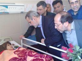 روحاني يوعز بمتابعة حادث انقلاب حافلة الطالبات في جنوب ايران