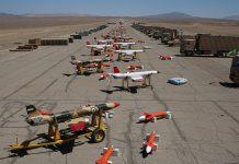 ازاحة الستار عن اول حظيرة طائرات من دون طيار