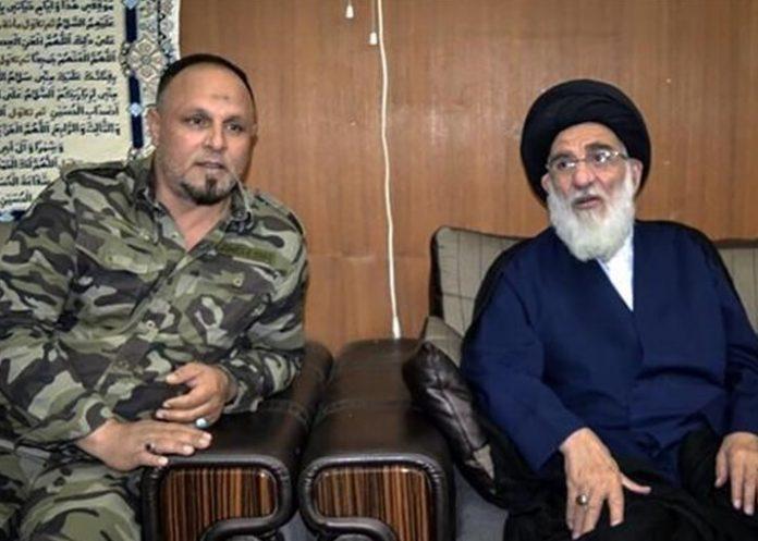 رئيس مجمع تشخيص مصلحة النظام يزور مقرحركة النجباء في العراق