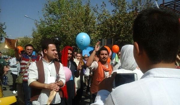 مريوان الايرانية تحتضن مهرجان دولي لمسرح الشارع