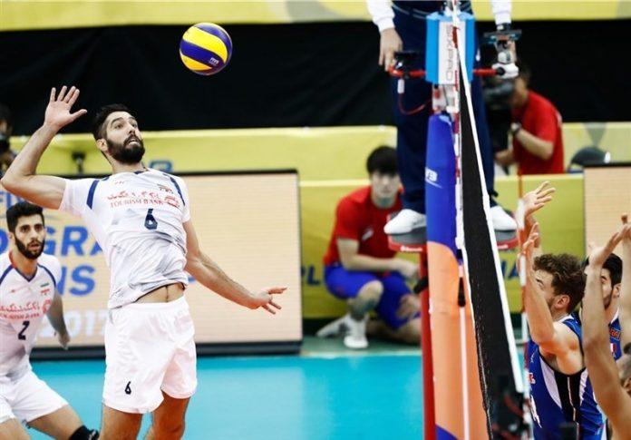 إيران تهزم إيطاليا في بطولة العالم لكرة الطائرة الكبرى