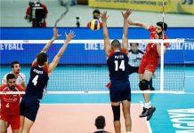 ايران تهزم امريكا في بطولة العالم لكرة الطائرة الكبرى