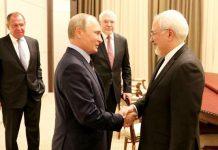 الأزمة السورية والاتفاق النووي ، محور محادثات ظريف وبوتين