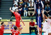 المنتخب الإيراني للكرة الطائرة يهزم نظيره الفرنسي
