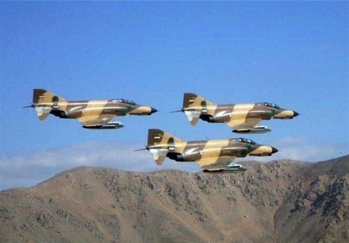 تزامنا مع استفتاء كردستان طائرات الجيش الايراني تحلق فوق الحدود الغربية